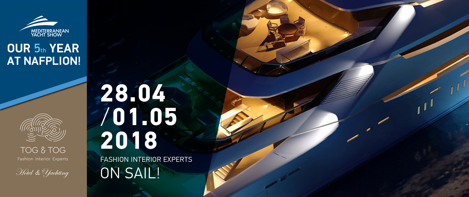5th Mediterranean Yacht Show 2018