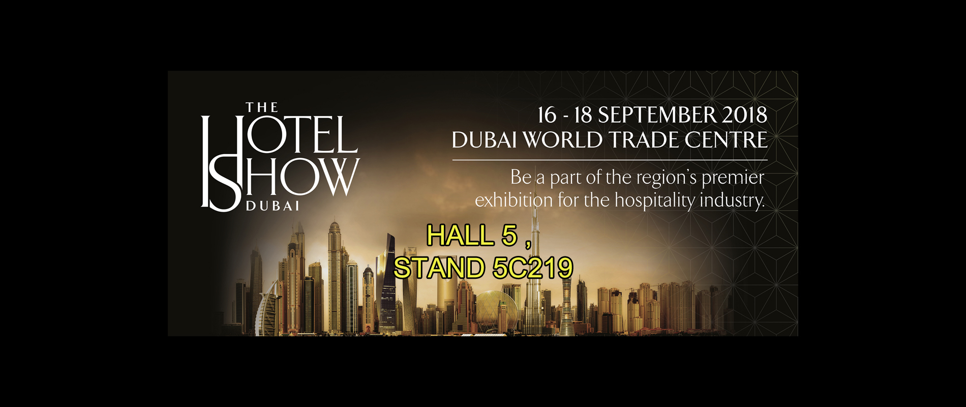 The Hotel Show Dubai TOG&TOG 2018