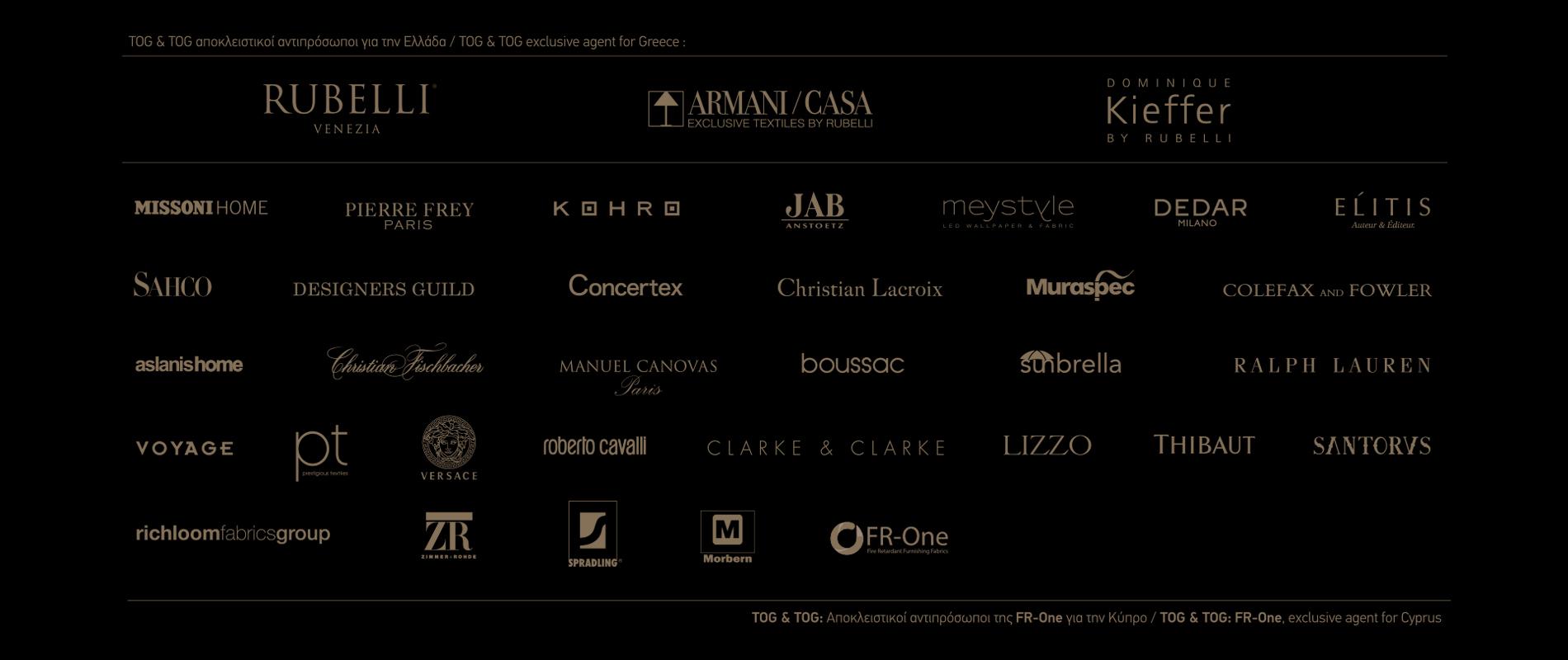 Tog&Tog exclusive brands